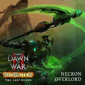 Comprar Warhammer 4K Dawn of War 2 Retribution The Last Stand Necron Overlord CD Key Comparar Precios