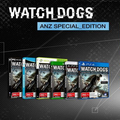 Watch Dogs The ANZ Special Edition