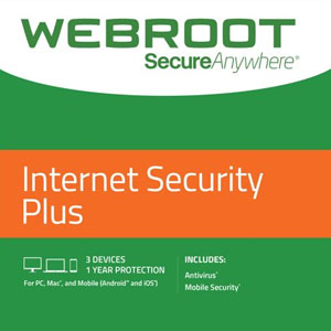 Webroot SecureAnywhere Internet Security Plus 2021