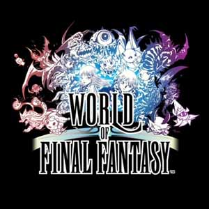 Comprar World of Final Fantasy PS4 Code Comparar Precios