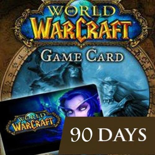 World of Warcraft 90 Dias EU