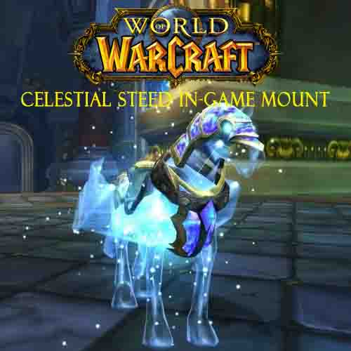 Comprar World Of Warcraft Celestial Steed In-Game Mount CD Key Comparar Precios