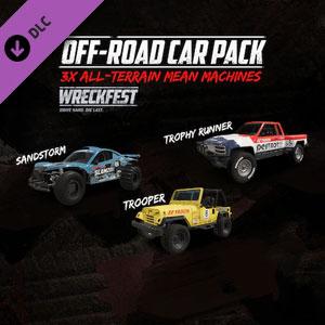 Wreckfest Off-Road Car Pack