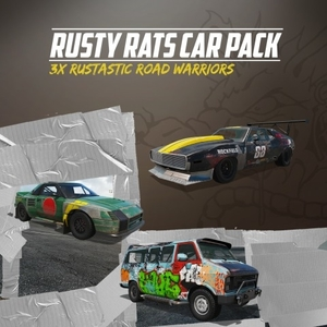 Wreckfest Rusty Rats Car Pack