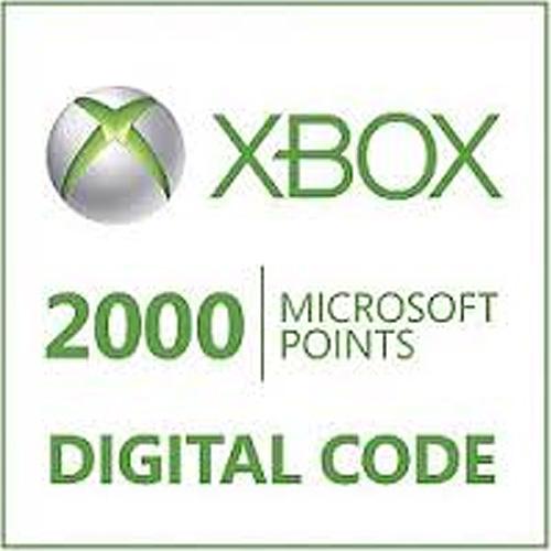 Comprar 2000 Microsoft Puntos Xbox Live Code Comparar Precios