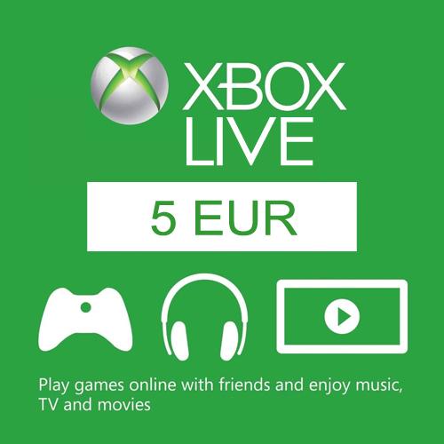 Comprar 5 Euro Card EU Xbox Live Code Comparar Precios