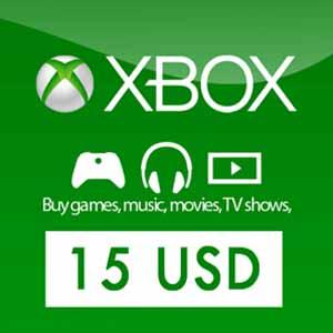 Comprar US 15 USD Card Xbox Live Code Comparar Precios
