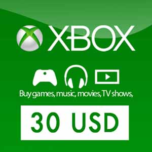 Comprar US 30 USD Card Xbox Live Code Comparar Precios