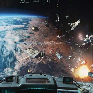 Batalla aérea en Call of Duty Infinite Warfare