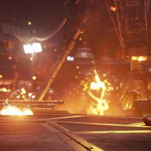 Call of Duty Infinite Warfare combate en el espacio