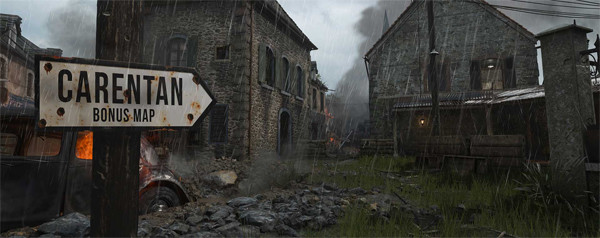 Call of Duty WW2 Carentan Map