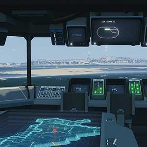 Carrier Command 2 Holomapa