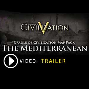 Comprar Civilization 5 Cradle of Civilization Map Pack Mediterranean CD Key Comparar Precios