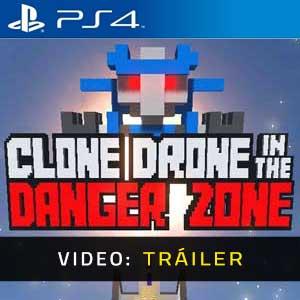 Clone Drone in the Danger Zone PS4 Vídeo En Tráiler