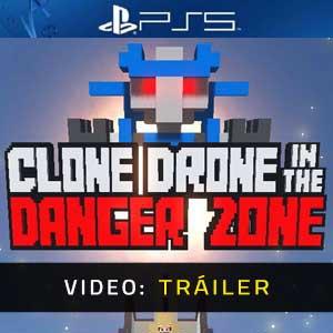 Clone Drone in the Danger Zone PS5 Vídeo En Tráiler
