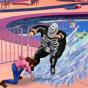 Cobra Kai The Karate Kid Saga Continues Ataque basado en el hielo