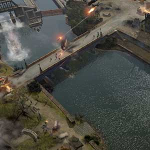 Company of Heroes 2 The British Forces - Explosión