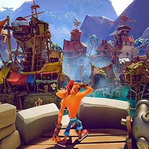 Crash Bandicoot 4 Its About Time Ciudad