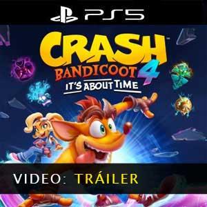Crash Bandicoot 4 Its About Time Vídeo del tráiler