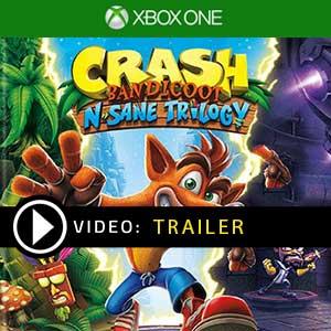 Crash Bandicoot N. Sane Trilogy Xbox One Precios Digitales o Edición Física
