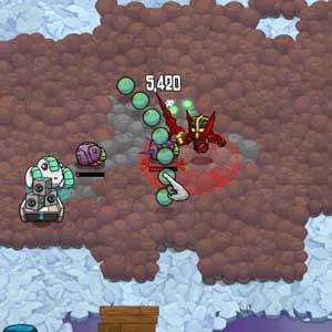 Crashlands Los ataques salvajes Slurb