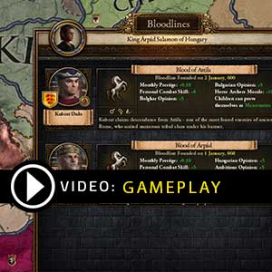 Crusader Kings 2 Holy Fury Gameplay Video