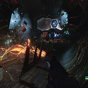 La nave madre alienígena Crysis Remastered