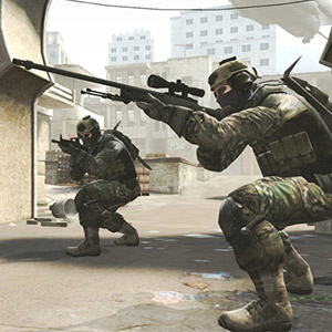 e-sports mode Counter Strike