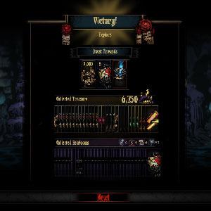 Darkest Dungeon batalla