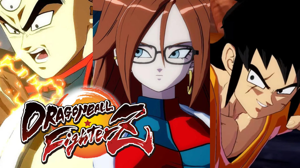 Dragon Ball FighterZ: Tien, Android 21 and Yamcha