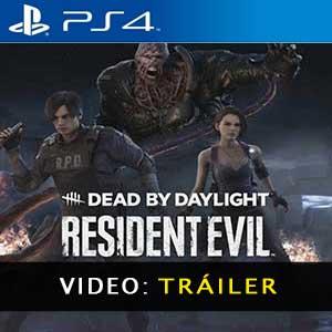 Dead by Daylight Resident Evil Chapter PS4 Vídeo Del Tráiler