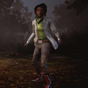 Dead By Daylight: Claudette con chaqueta eléctrica y botas rojas para flash