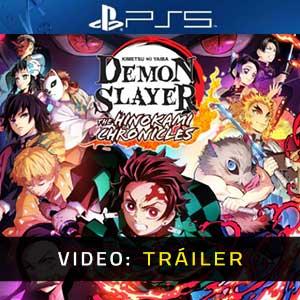 Demon Slayer Kimetsu no Yaiba The Hinokami Chronicles PS5 Vídeo En Tráiler