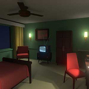 Discolored Room