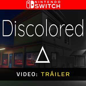 Discolored Nintendo Switch Video dela campaña
