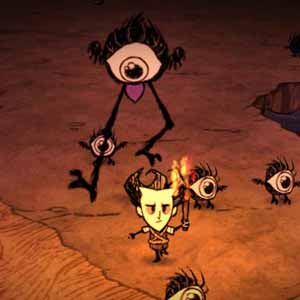 Dont Starve - Eye Mosters