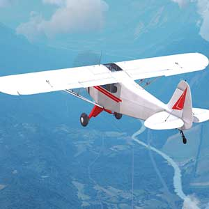 Dovetail Games Flight School Piper PA-18 Super Cub