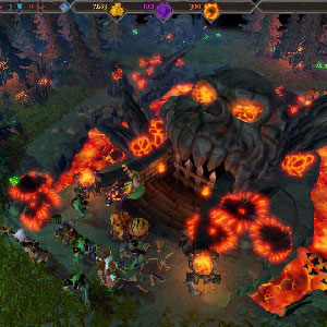 Dungeons 3 Gameplay Environment