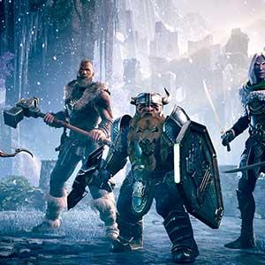 Dungeons & Dragons Dark Alliance Personajes Principales