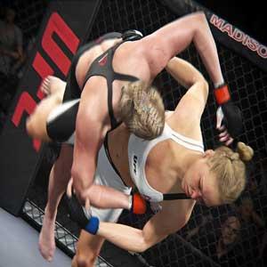 EA Sports UFC 2 PS4 Ronda Rousey vs. Brook Roberts