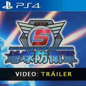 Earth Defense 5 PS4 Video dela Campaña