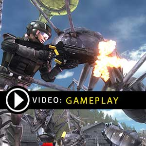 EARTH DEFENSE FORCE Gameplay Video