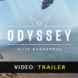 Elite Dangerous Odyssey Vídeo del tráiler