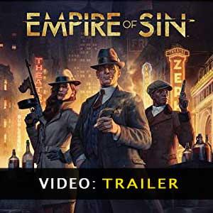 Video del trailer de Empire of Sin