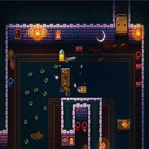 evolving bullet hell fortress