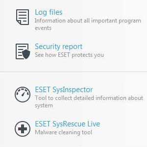 Eset Nod32 Global License herramientas