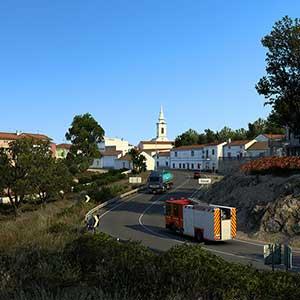 Euro Truck Simulator 2 Iberia Ciudad