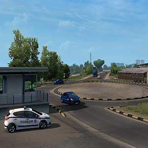 Euro Truck Simulator 2 Road to the Black Sea - Coche de policía