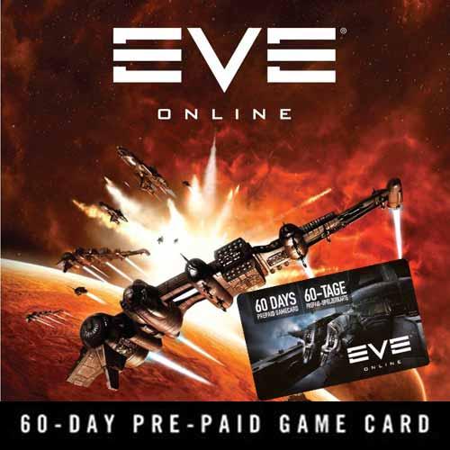 Comprar EVE Online 60 Dias tarjeta de prepago