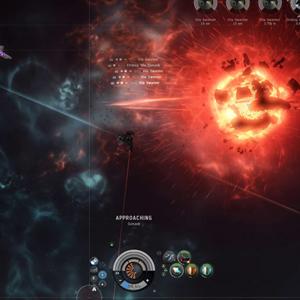 Eve Online Explosión